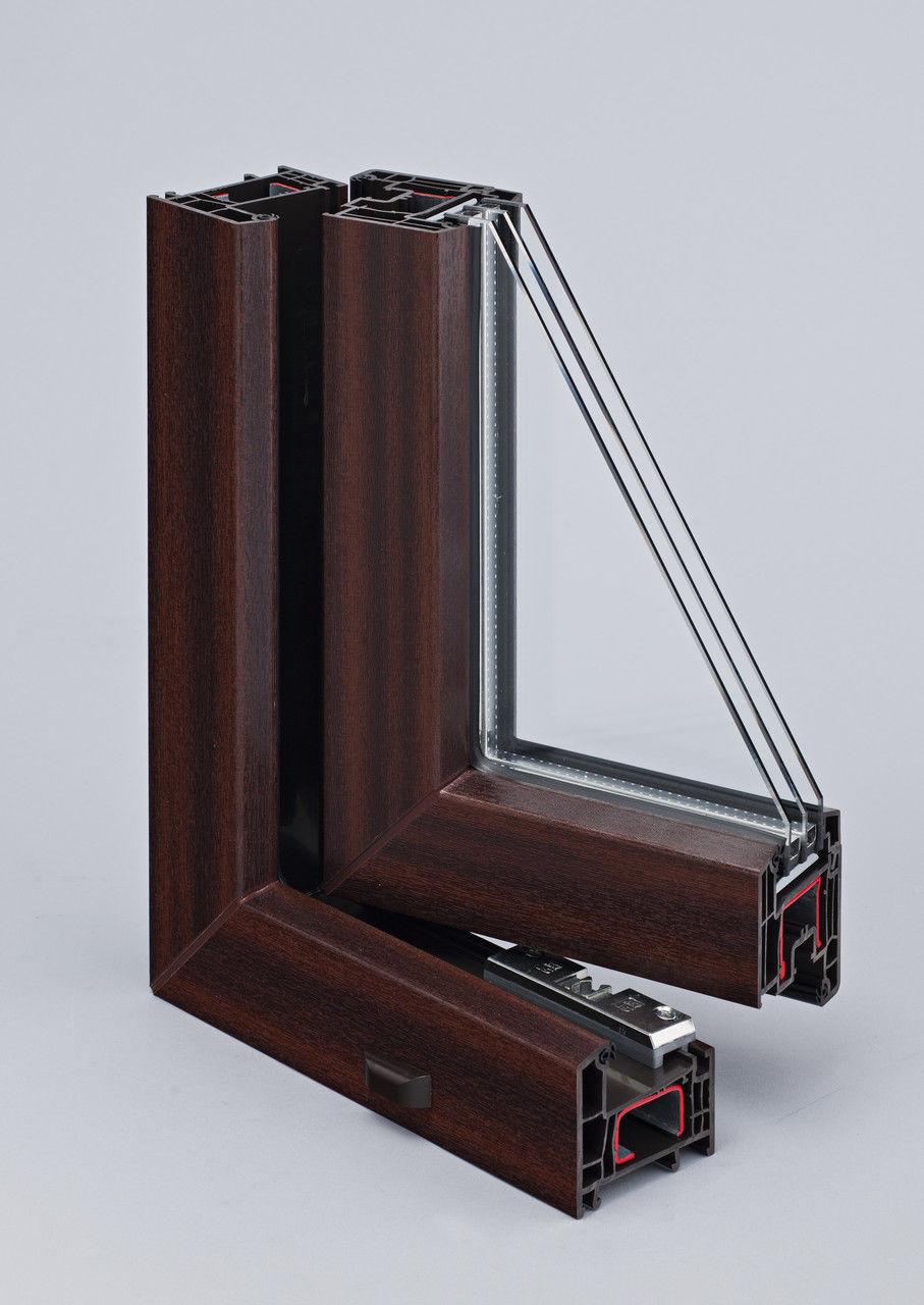 ламинированные стеклопакеты фото