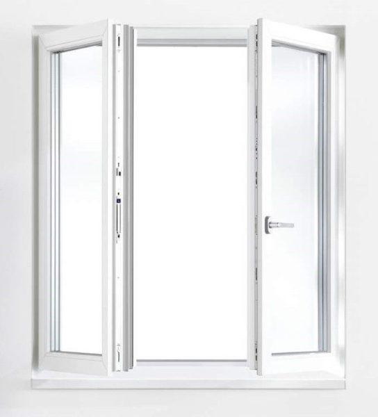 Штульповые окна с открыванием наружу