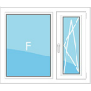 Окно в кирпичный дом серии 1-528КП-41