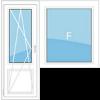 Балконный блок в кирпичный дом серии 1-528КП-41