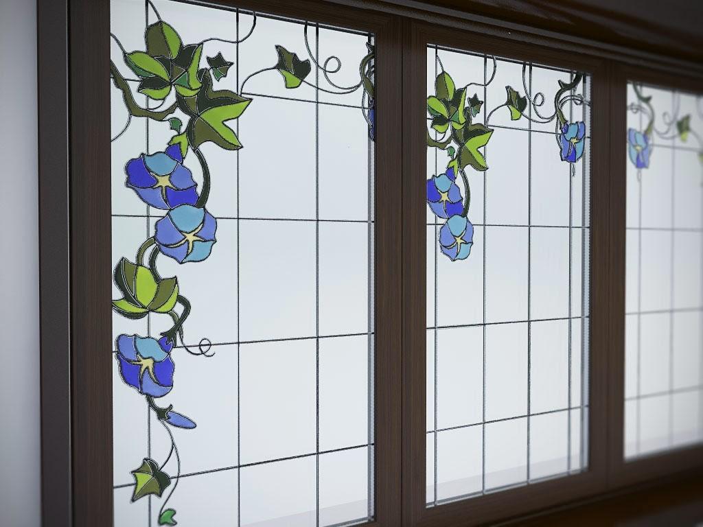 Декоративные окна - окнасека.