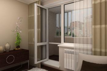 Установка балконных блоков