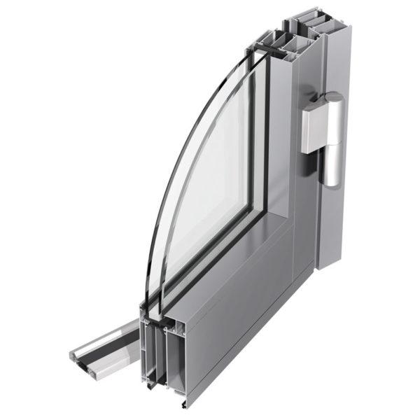 Алюминиевые тёплые двери
