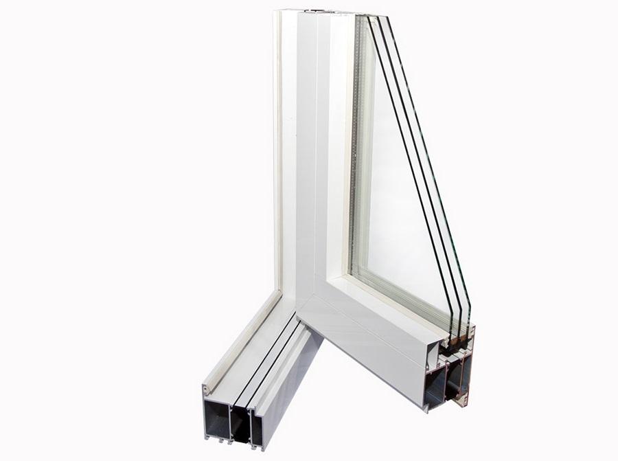 Алюминиевые окна тёплые