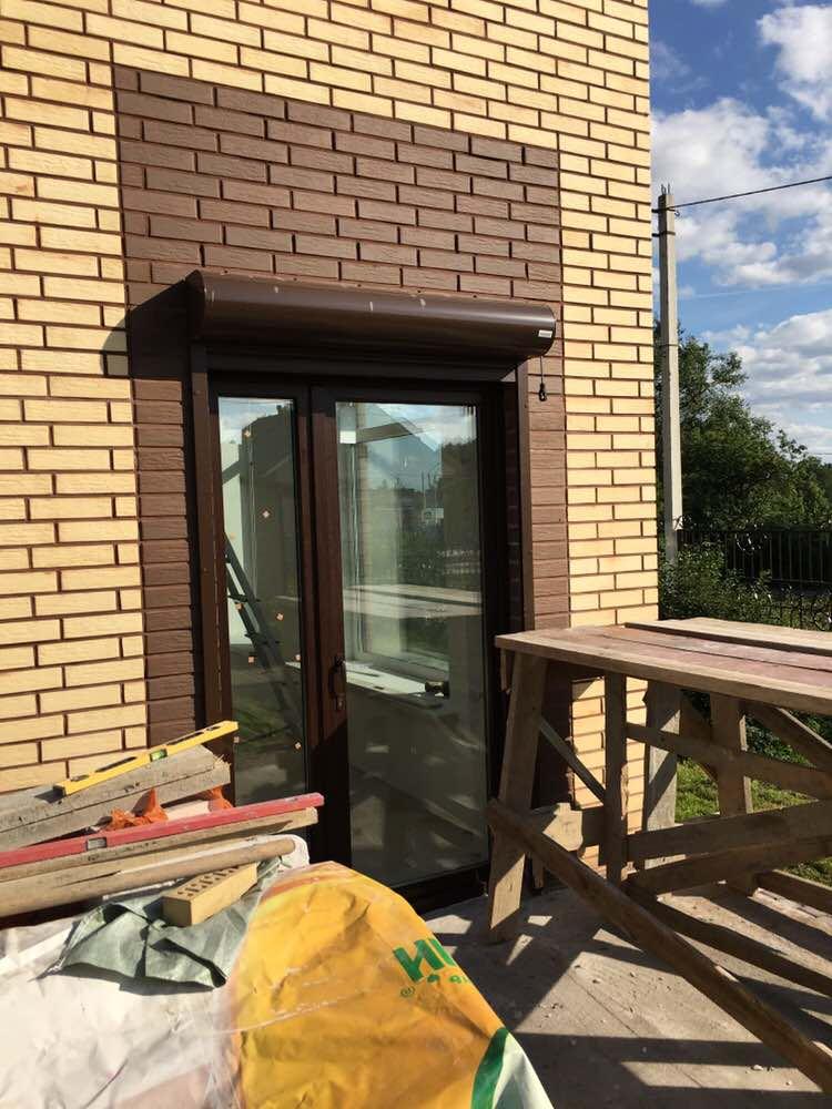 Штульповая дверь балконная