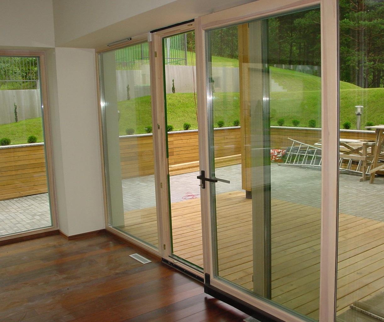 Раздвижные двери на балкон (64 фото): балконные пластиковые .
