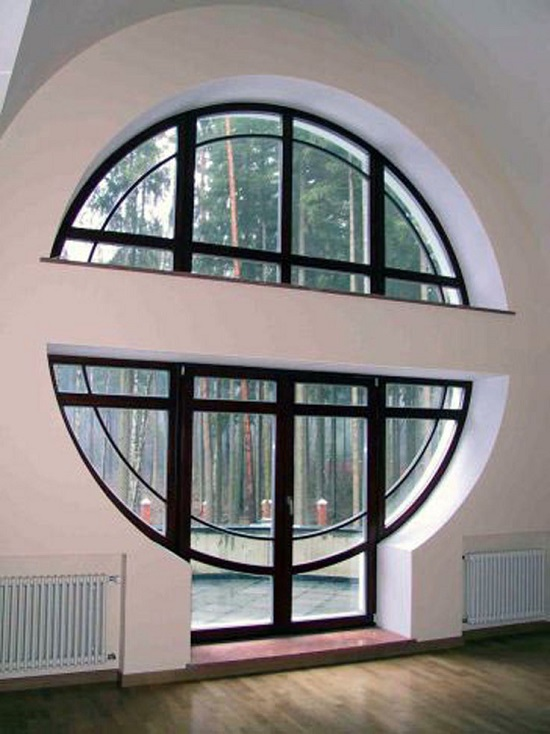 Круглые окна и их виды